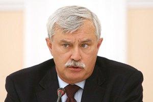 "Губернатор Санкт-Петербурга: ""Я - не жлоб. Мене неправильно зрозуміли"""