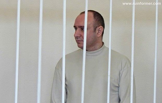 Геннадий Басов во время заседание в Ленинском районном суде Севастополя