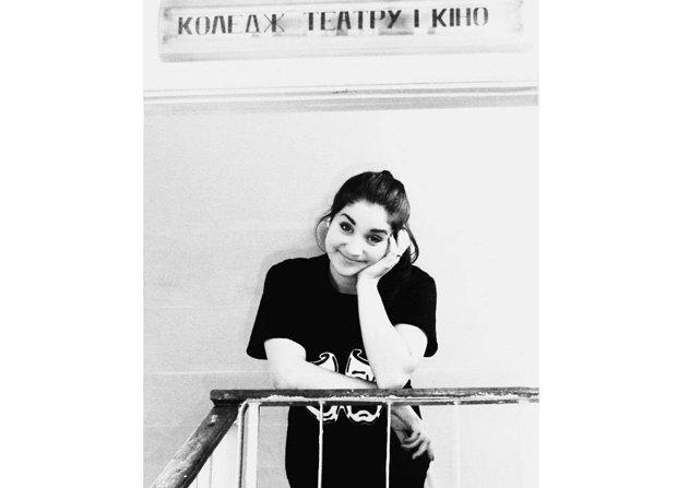 Аліна Демченко на другому курсі Коледжу театру і кіно