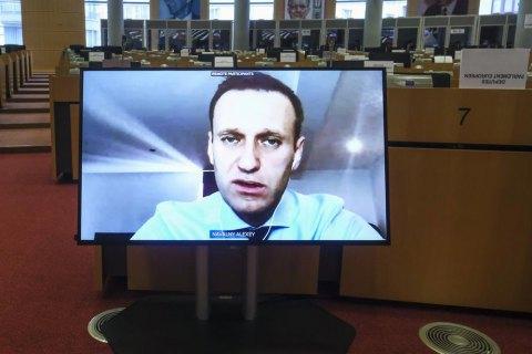 Европарламент принял резолюцию в связи с арестом Навального