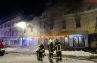 На Подоле в Киеве произошел пожар в ресторане турецкой кухни