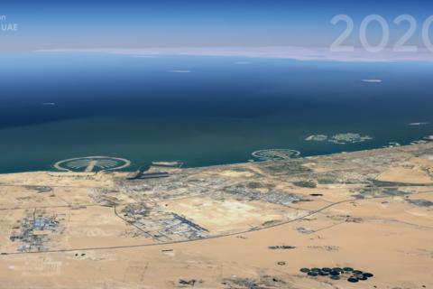 В Google предложили посмотреть, как менялась Земля за 37 лет