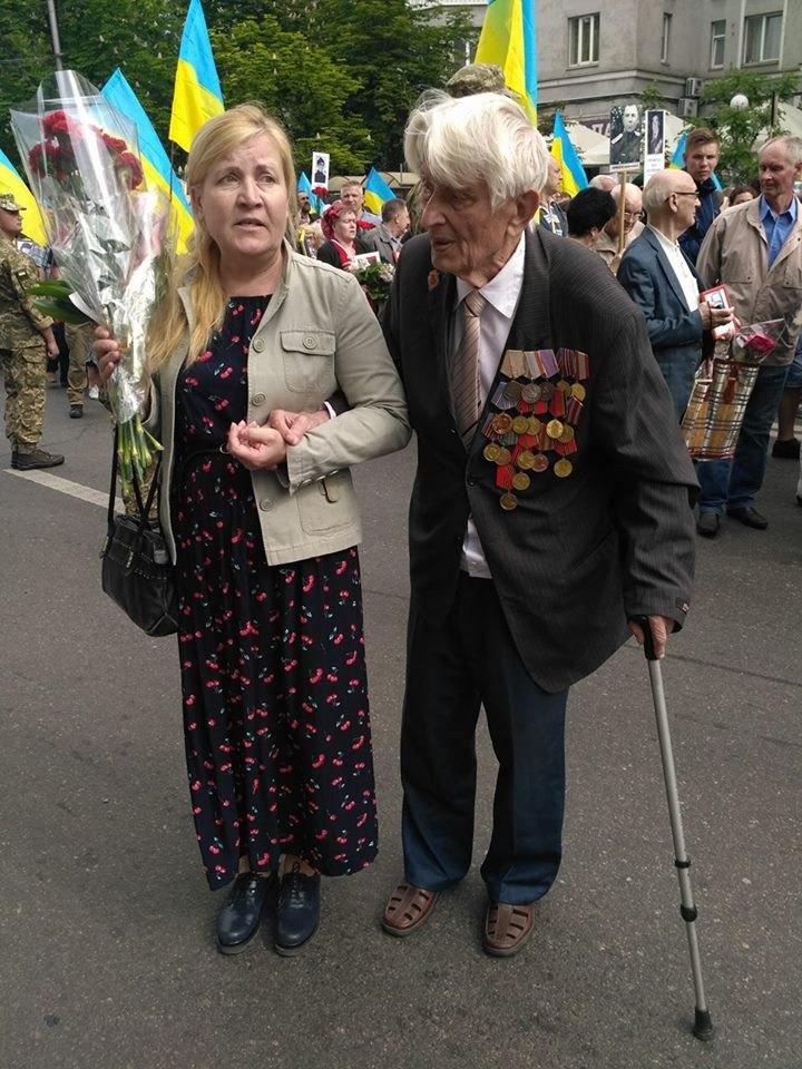 Ветеран війни - Євген Кривонос, льотчик, 90 років.