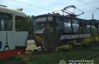В Харькове столкнулись трамваи, есть пострадавшие
