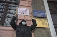 Печерский райсуд Киева до сих пор не начал избирать меру пресечения организатору акции под ОП Филимонову