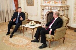 Янукович надеется на позитивный результат встречи с Путиным