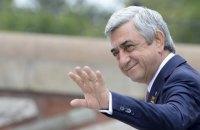 Прем'єр Вірменії Серж Саргсян пішов у відставку (оновлено)