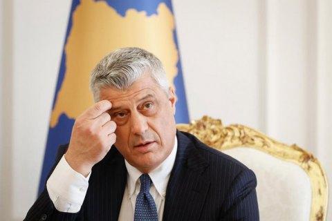 Президент Косова постав перед Гаазьким трибуналом