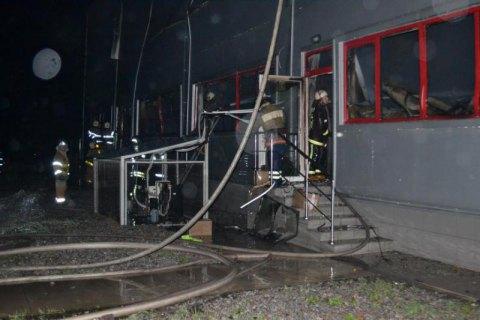 """Рятувальники загасили пожежу на заводі """"Біофарма"""" в Білій Церкві"""