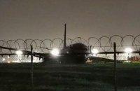 У пассажирского Боинга на Филлипинах при посадке отвалился двигатель