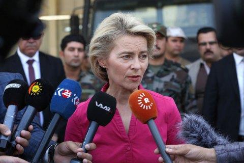 Міністр оборони ФРН фон дер Ляєн оголосила про відхід у відставку