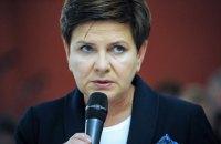 Прем'єр Польщі потрапила в ДТП