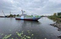 """""""Кузня на Рибальському"""" спустила на воду восьмий броньований артилерійський катер"""