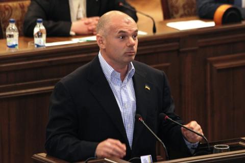Экс-глава Одесской области Палица избран председателем Волынского облсовета