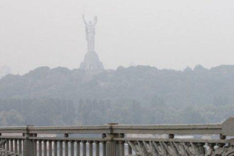 В воздухе над Киевом выросла концентрация формальдегида, диоксида азота и диоксида серы