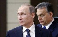 В Венгрии сообщили о втором за год визите Путина