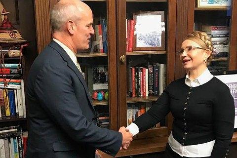 Тимошенко обсудила с членами комитета Палаты представителей США по вооруженным силам военную помощь Украине