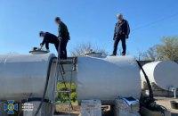 СБУ разоблачила на Днепропетровщине нелегальный нефтеперерабатывающий завод