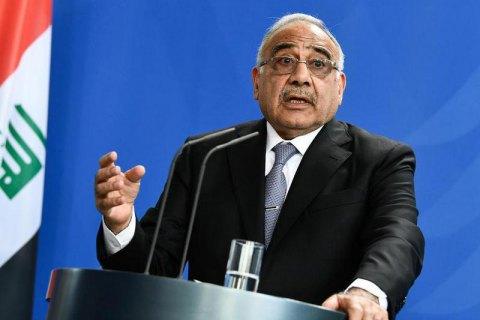 Премьер Ирака согласился уйти в отставку из-за протестов