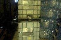В Харькове полицейские изъяли 12 тонн нелегального спирта