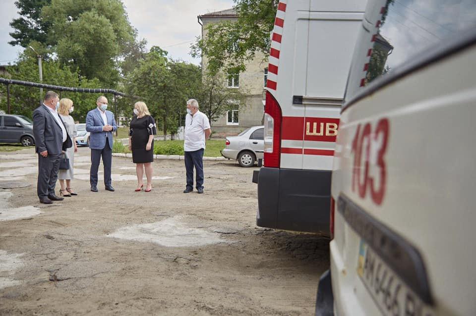 Міністр Степанов під час робочого візиту у Житомирську область