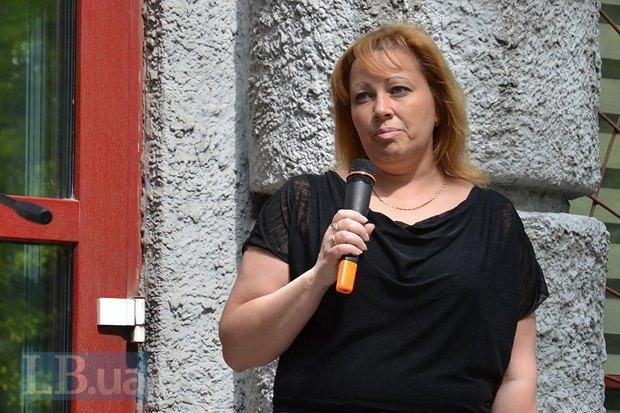Мать Евгения Яцины Светлана