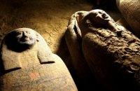 В Єгипті знайшли саркофаги, яким 2500 років