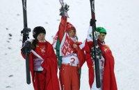 Белорусская фристайлистка Гуськова выиграла золото Олимпиады в воздушной акробатике