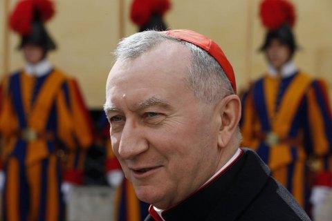 В Украину с визитом прибыл госсекретарь Ватикана
