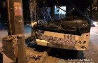 У Запоріжжі автобус із пасажирами в'їхав в електроопору, є постраждалі