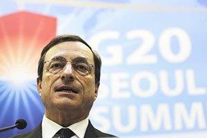 Марио Драги возглавил ЕЦБ