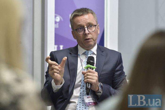 Модератор дискуссионной панели Иван Миклош