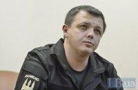 Арестованный экс-нардеп Семенченко попал в больницу