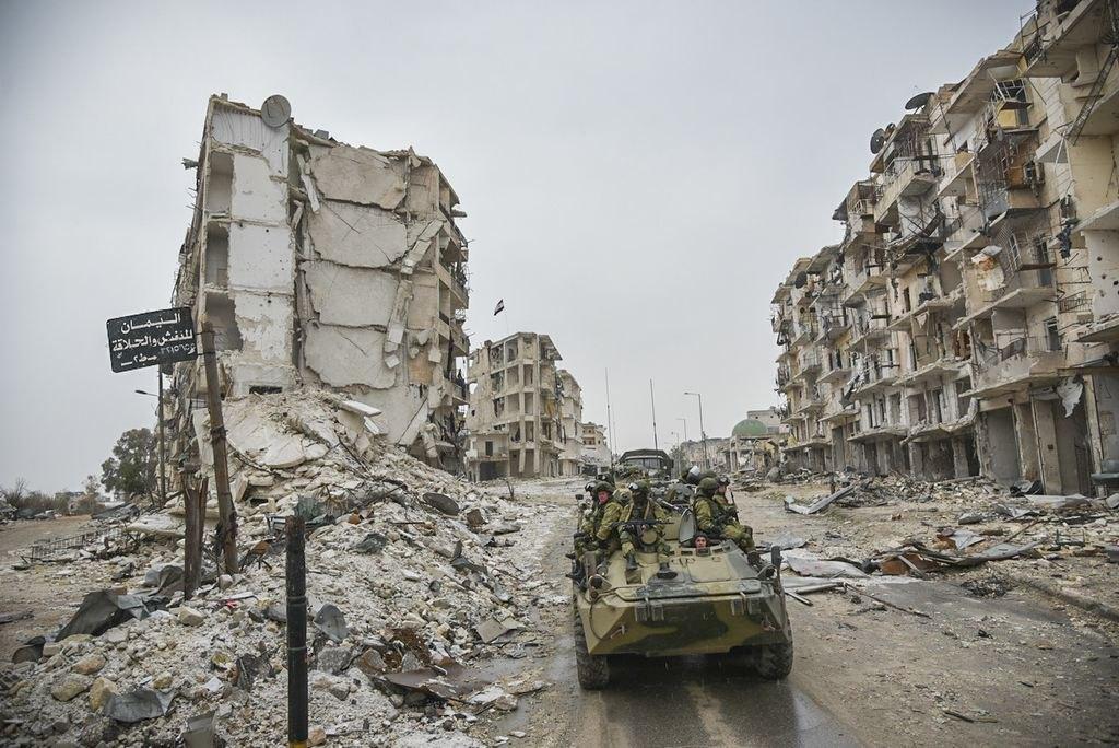 Російські війська в Алеппо, грудень 2016 року