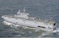 """Корабель із російськими екіпажами """"Містралів"""" покинув французький порт"""