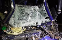В Николаевской области автобус с пассажирами столкнулся с грузовиком, пострадали 17 человек