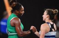 На Australian Open Серена Вільямс помилково прийняла себе за першу ракетку світу