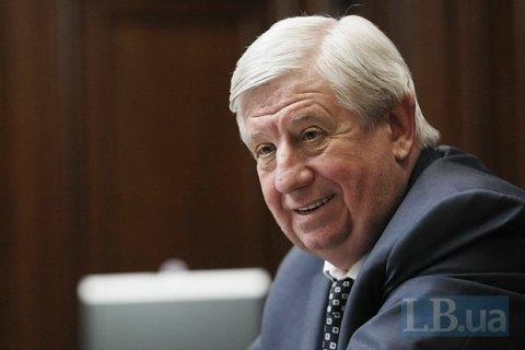 Transparency International обвинила Шокина в нежелании бороться с коррупцией