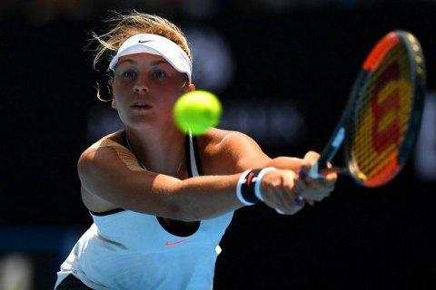 Украинская теннисистка Элина Свитолина пробилась втретий раунд Australian Open