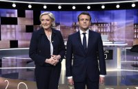Макрон выиграл президентские дебаты у Ле Пен