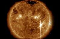 На Солнце зарегистрирована самая большая вспышка за 12 лет
