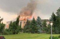 У Благовіщенському від удару блискавки згоріла будівля РДА, - нардеп