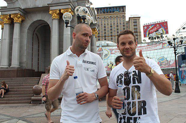 Олоф і Марлен вірять, що Євро-2012 виграє Німеччина