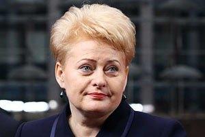 У країнах Балтії з'являться командні пункти НАТО, - Грибаускайте