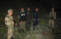 В Сумской области задержали трех граждан РФ за нелегальное пересечение границы