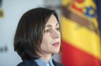 В Молдові назвали дату офіційного візиту Маї Санду до України