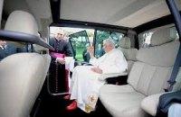 Бенедикт XVI пересел на французские автомобили