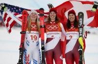 Швейцарка Гизин - олимпийская чемпионка Пхёнчхана в комбинации