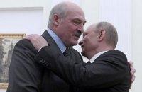 Путін привітав Лукашенка з перемогою на виборах
