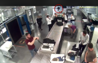 """Появилось видео бегства израильского наркоторговца от СБУ в """"Борисполе"""""""